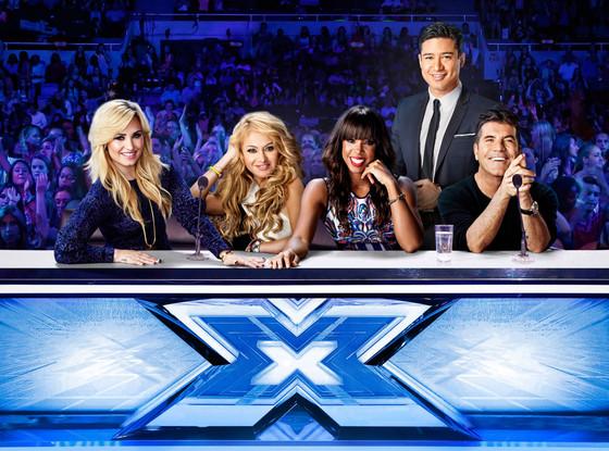 Demi Lovato, X-Factor Judges