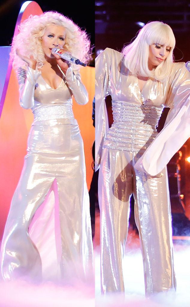 Christina Aguilera, Lady Gaga