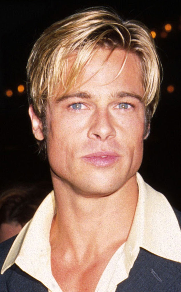 brad pitt hair styles 1997 from brad pitt s hair through the years e news 3315