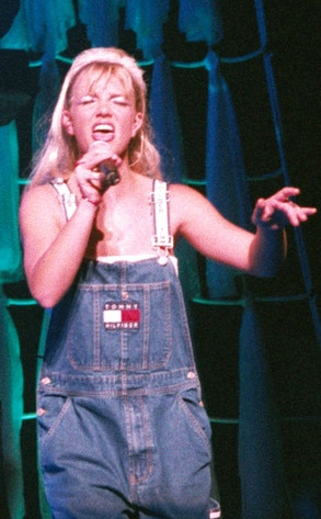 """Her First Injury -  Spears was forced to postpone her """"Sometimes"""" music video and cancel an appearance on  The Tonight ShowWith Jay Leno when she injured her knee during dance rehearsals for the video, which required intense physical therapy. Five years later, Spears would require arthroscopic surgery on her knee after reinjuring it, postponing one of her tours."""