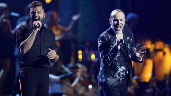 Ricky Martin, Miguel Bose, Grammys Latinos