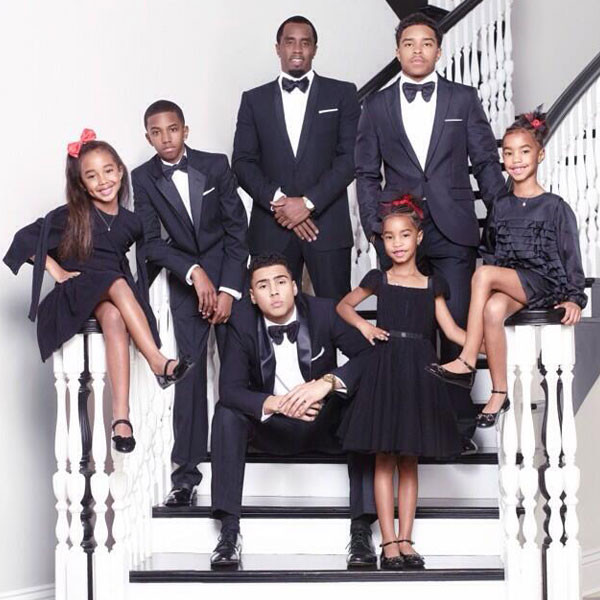 Sean Combs, Holiday Card, Twitter