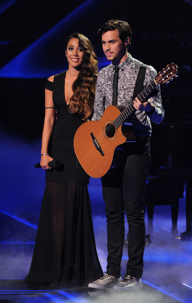 THE X FACTOR: ALEX & SIERRA