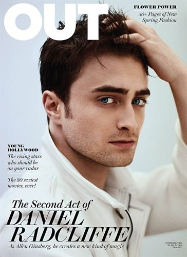 Daniel Radcliffe, OUT Magazine