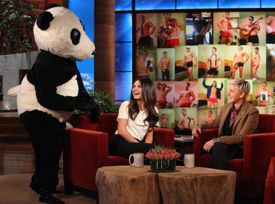 Mila Kunis, The Ellen DeGeneres Show