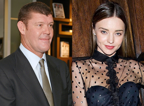 James Packer, Miranda Kerr