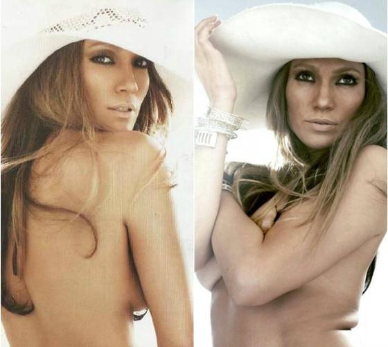 Jennifer Lopez sem photoshop