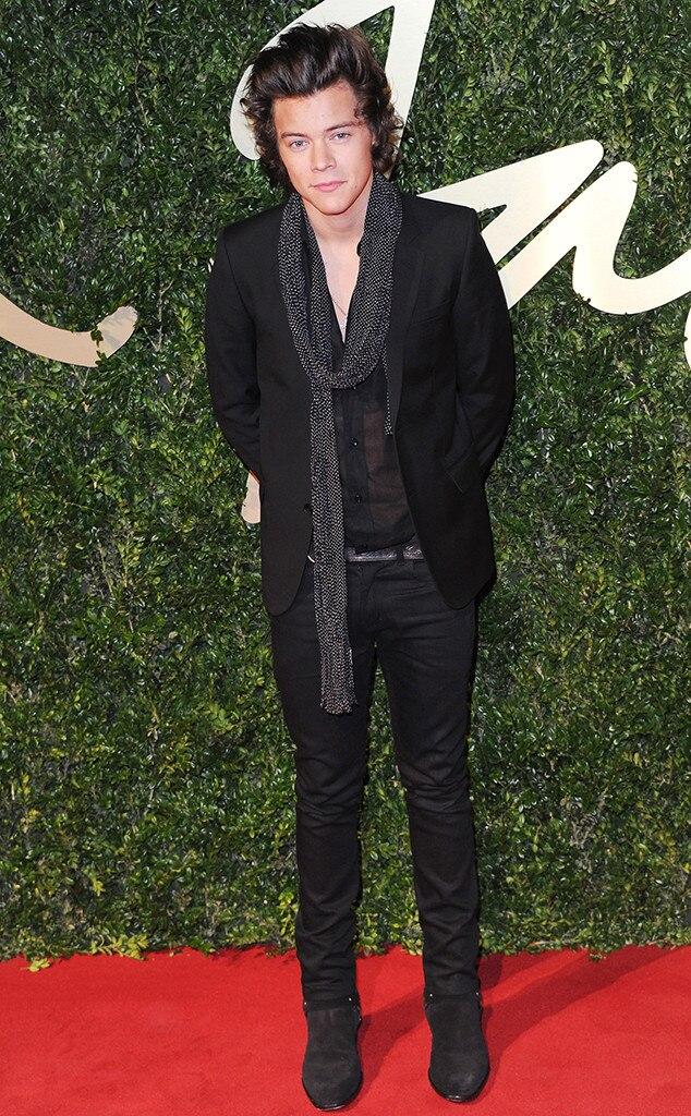Harry Styles, British Fashion Awards, London