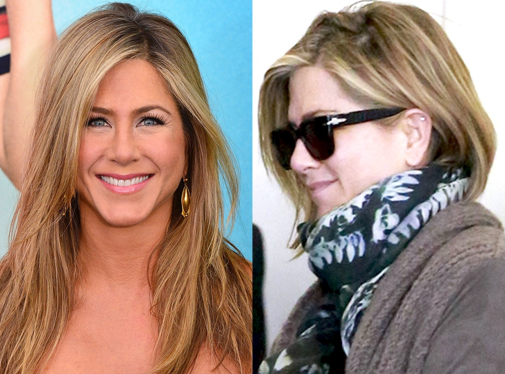 Jennifer Aniston From Best Of 2013 Most Shocking Hair Changes