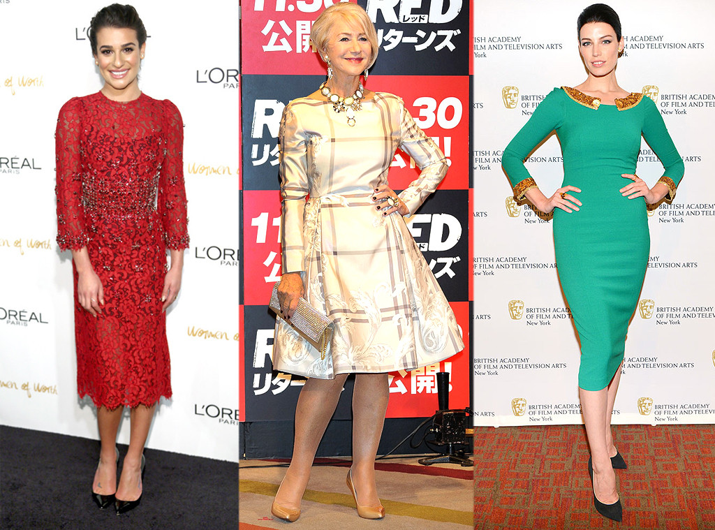 Lea Michele, Helen Mirren, Jessica Pare