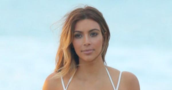 Kim Kardashian Unveils Post-Baby Bikini Bodysee Pics Of -6304