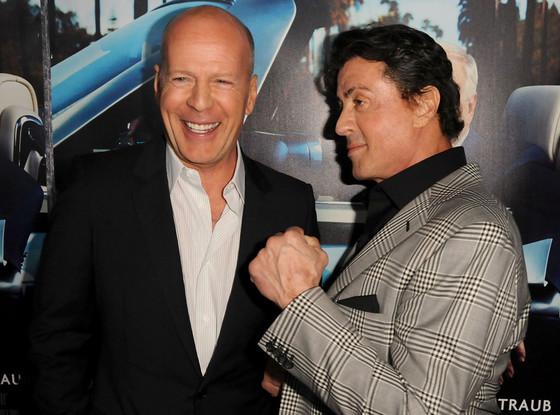 Bruce Willis, Sylvester Stallone