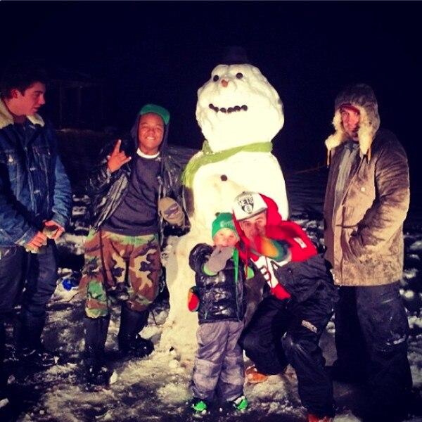 Justin Bieber, Christmas Instagram