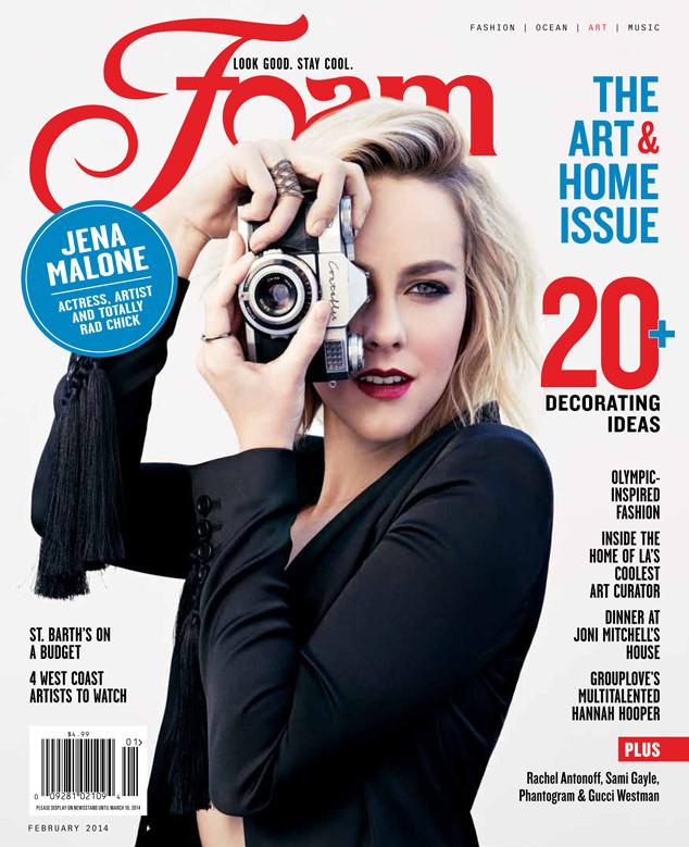 Jena Malone, FOAM Magazine