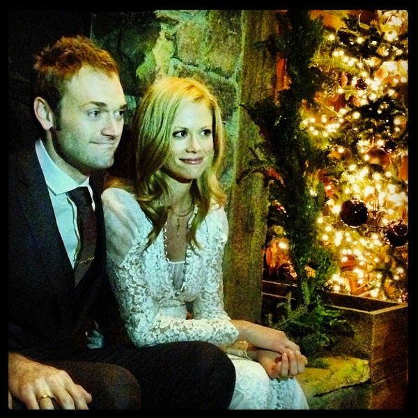 Claire Coffee, Chris Thile, Wedding, Instagram