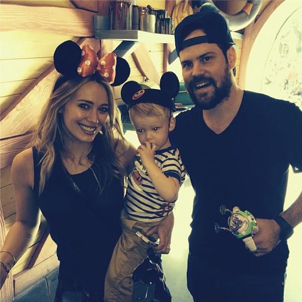 Hilary Duff, Instagram, Disney