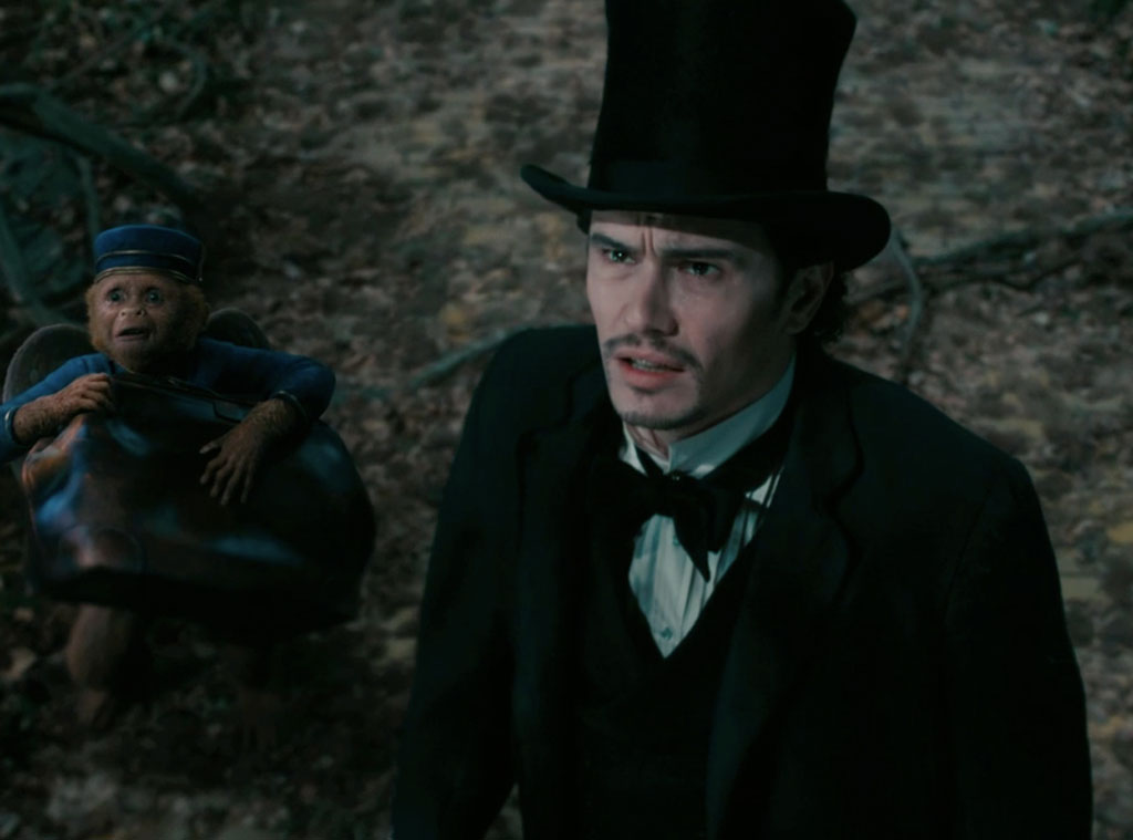 The Great and Powerful Oz, James Franco