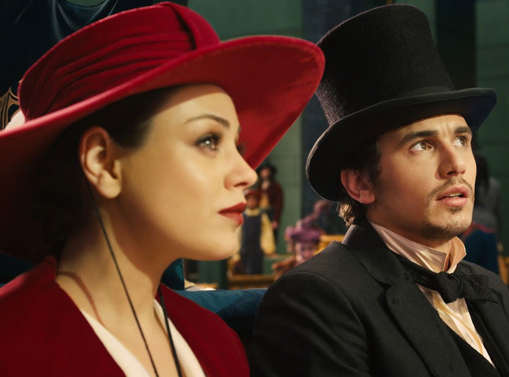 The Great and Powerful Oz, Mila Kunis, James Franco