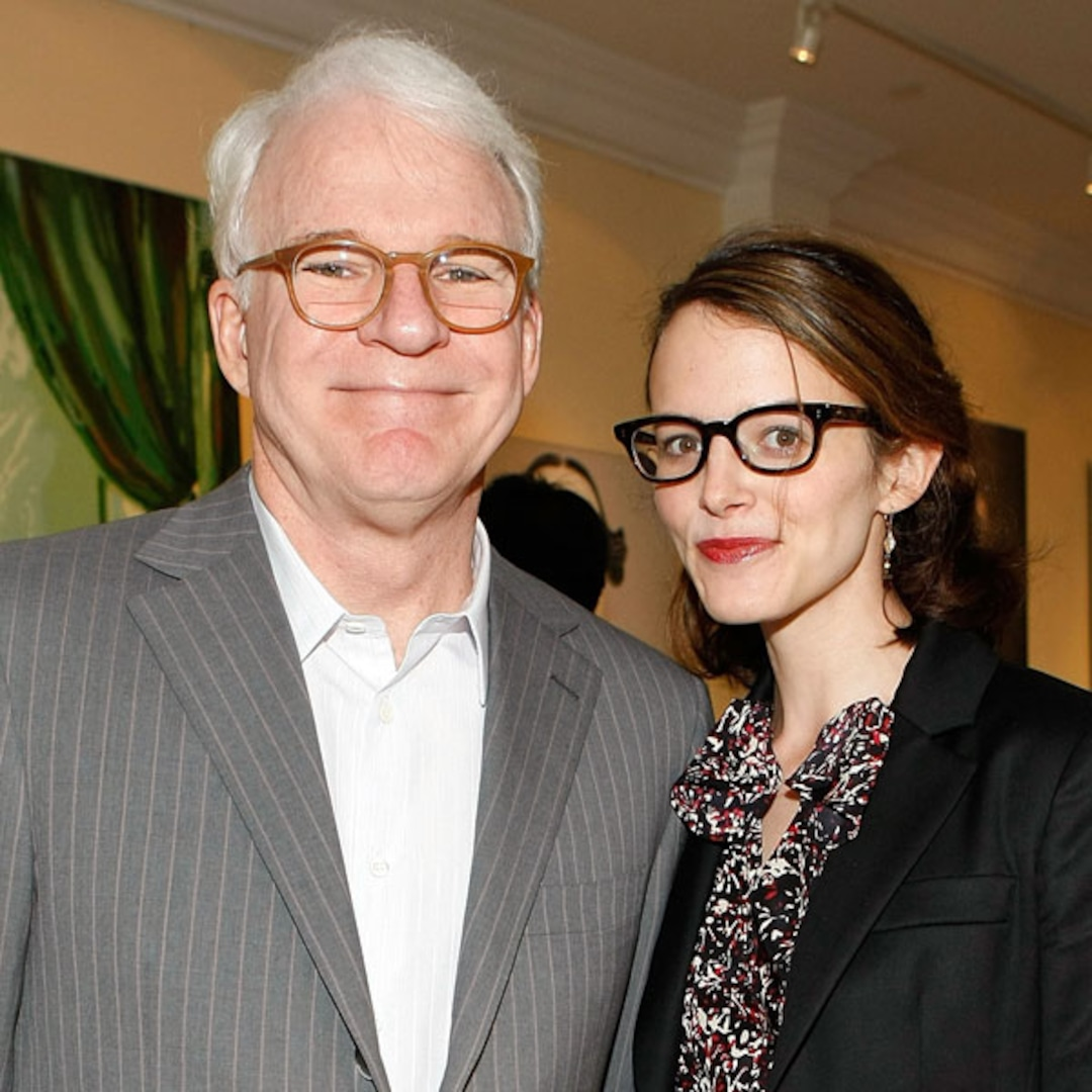 Steve Martin Becomes a Dad at Age 67! - E! Online
