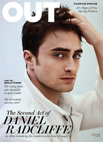 Daniel Radcliffe, revista OUT