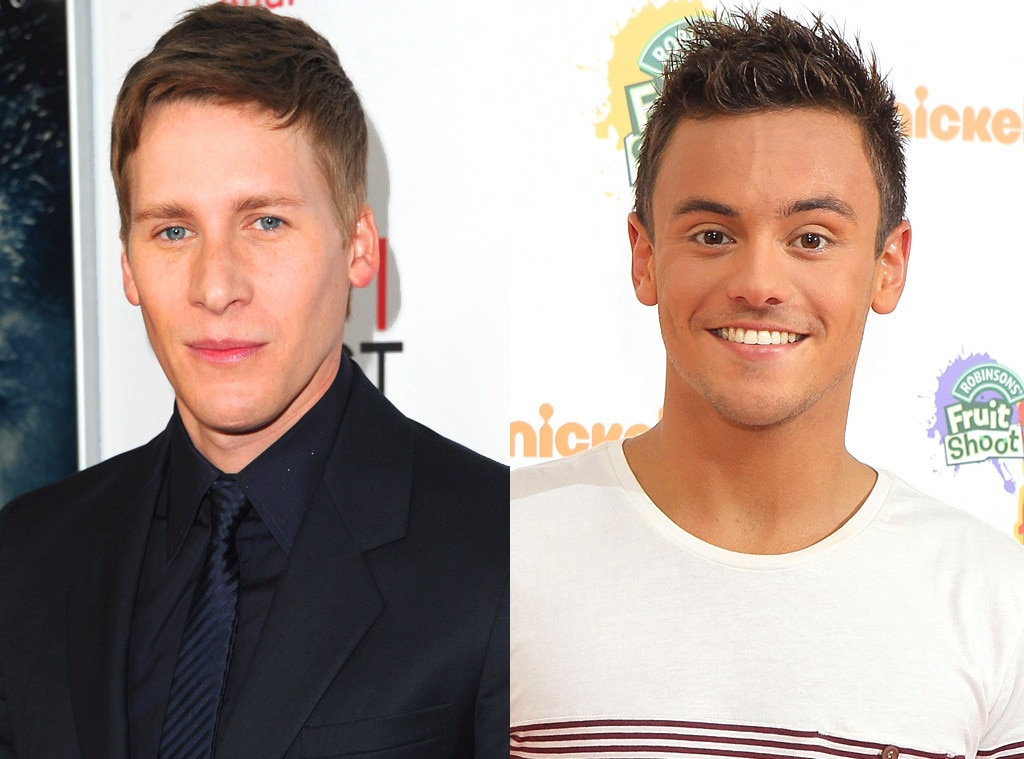 Tom daley dating a guy
