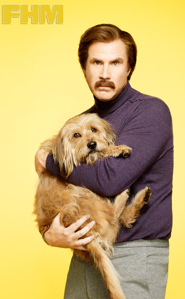 Anchorman 2, The Legend Continues, FHM, Strictly embargoed until 4:01 Wednesday, December 4