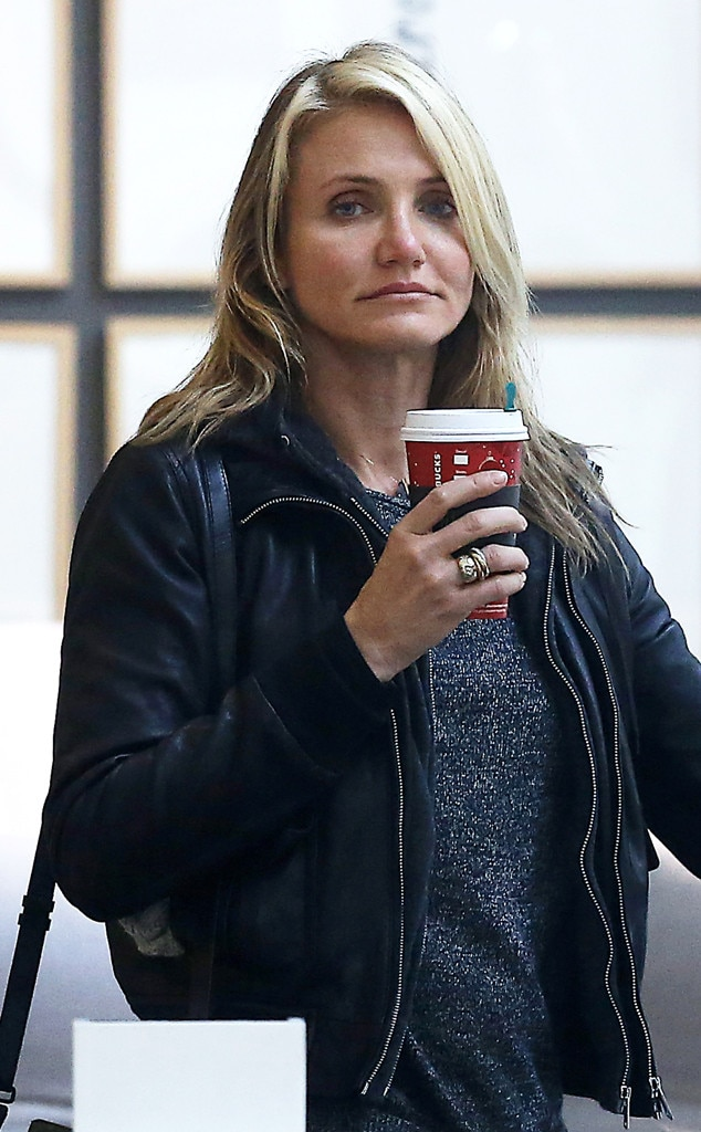 Cameron Diaz, Starbucks Holiday Red Cups
