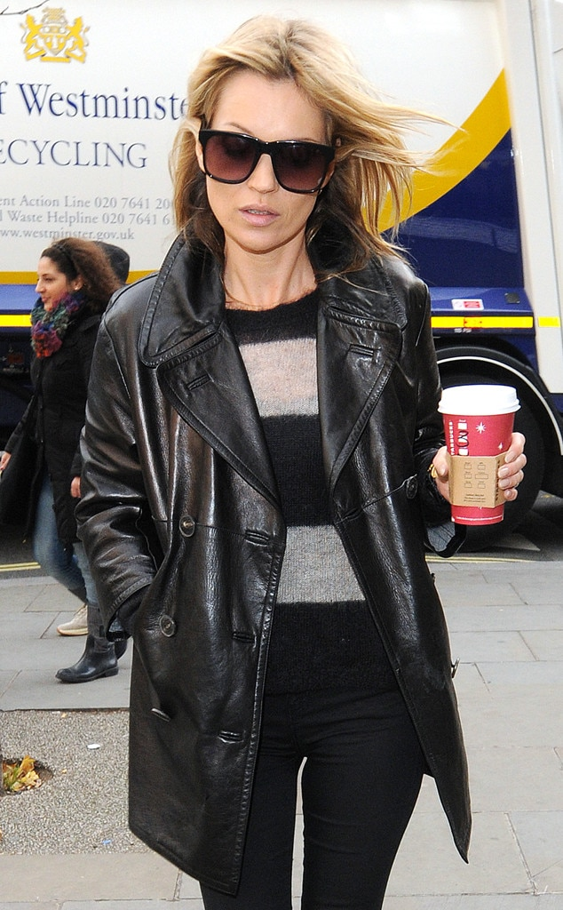 Kate Moss, Starbucks Holiday Red Cups