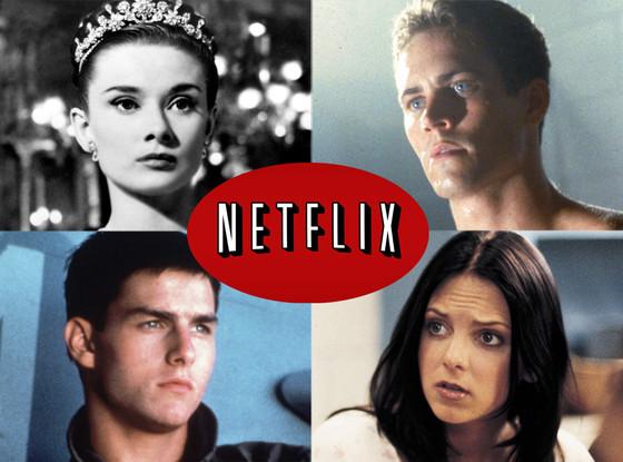 Netflix, Paul Walker, The Skulls Tom Cruise, Top Gun Audrey Hepburn, Roman Holiday Anna Farris, Scary Movie