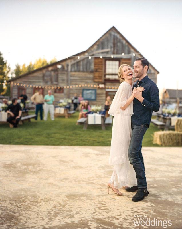 Kate Bosworth, Michael Polish, Martha Stewart Weddings