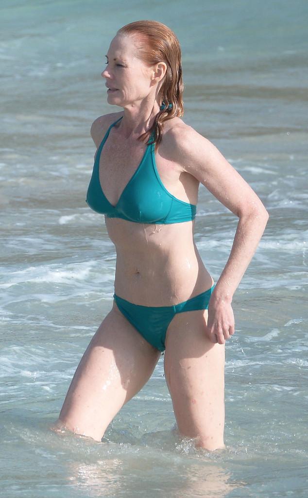 Marg Helgenberger Has A Killer Bikini Bod At 55  E News-4295