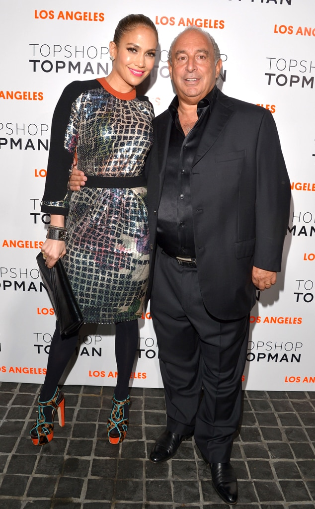 Jennifer Lopez, Sir Philip Green