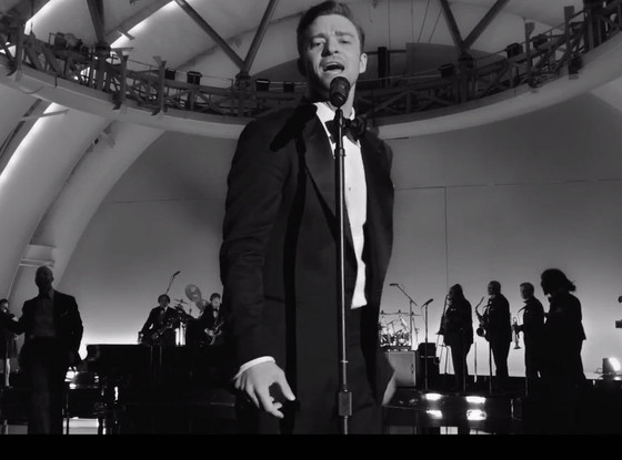 Justin Timberlake, Suit & Tie video