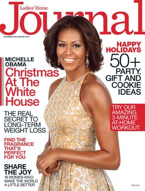 Michelle Obama, Ladies' Home Journal