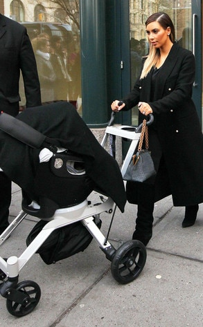 Kim Kardashian, North
