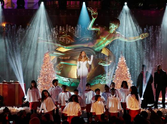Christmas in Rockefeller Center, Mariah Carey