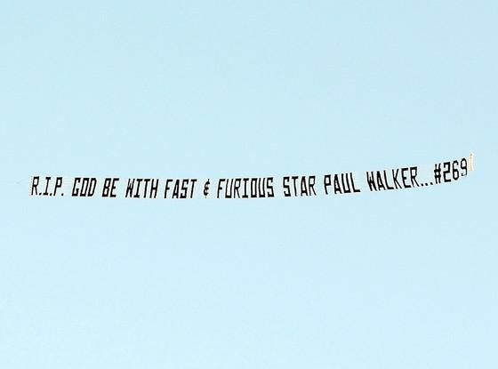 Paul Walker, Sky Sign