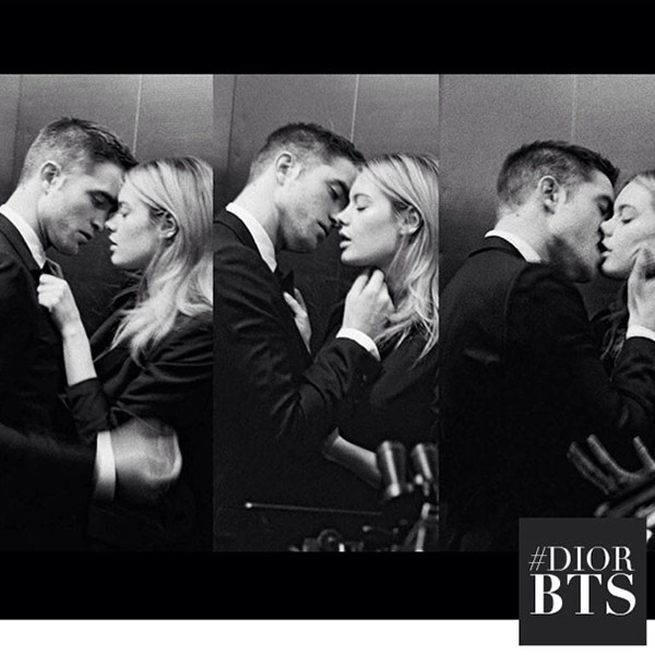 Robert Pattinson, Dior Homme, Instagram