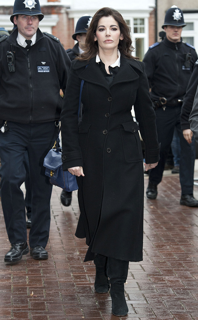 Nigella Lawson, Isleworth Crown Court, London, England