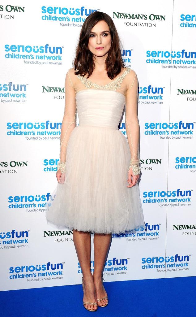 Keira Knightley, Wedding Dress
