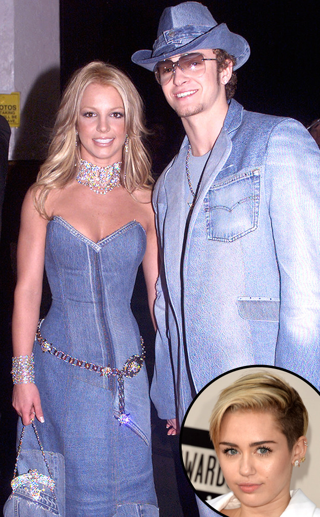 Britney Spears, Justin Timberlake, Miley Cyrus