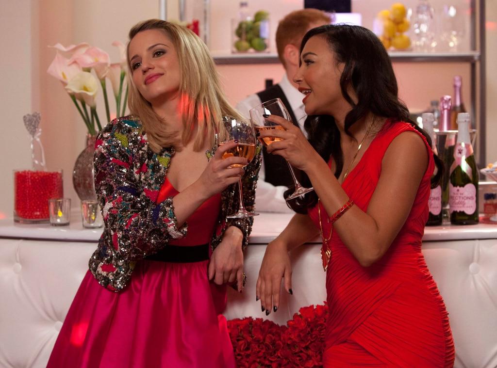 Glee, Naya Rivera, Dianna Agron