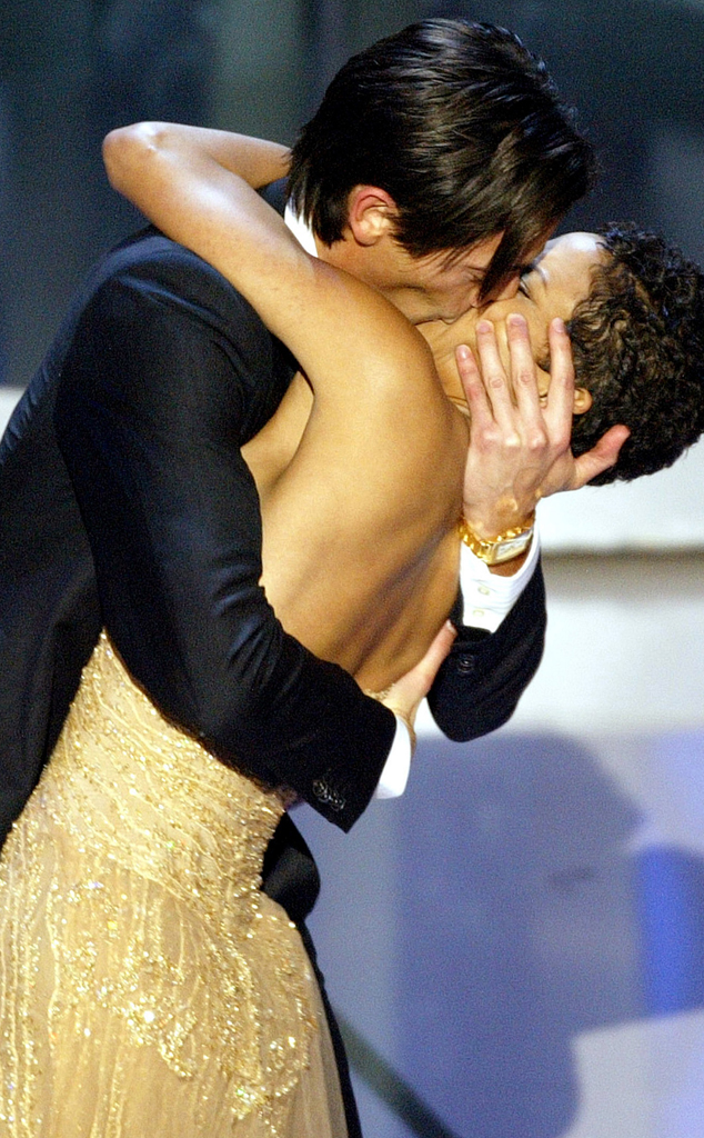 Adrien Brody, Halle Berry, 2003 Oscars