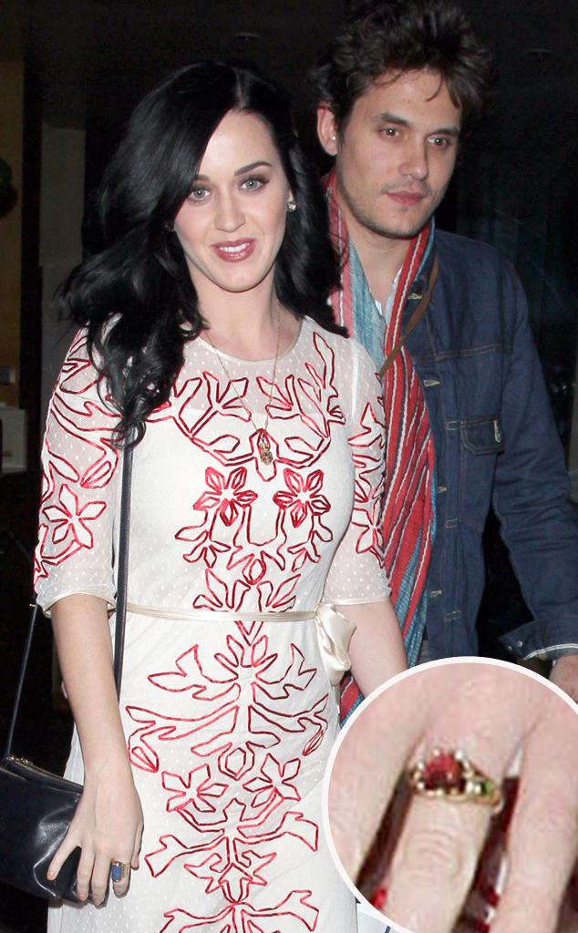 Katy Perry, John Mayer, Ring