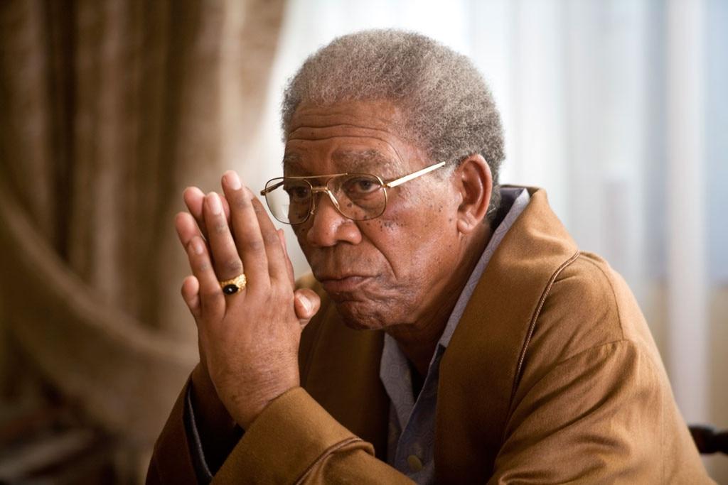 Morgan Freeman, Nelson Mandela, Invictus