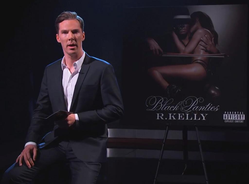 Benedict Cumberbatch, R. Kelly, Jimmy Kimmel