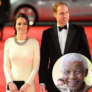Catherine Duchess of Cambridge, Prince William, Kate Middleton, Nelson Mandela