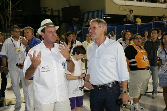 Harrison Ford no Brasil