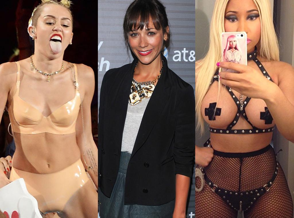 Miley Cyrus, Rashida Jones, Nicki Minaj