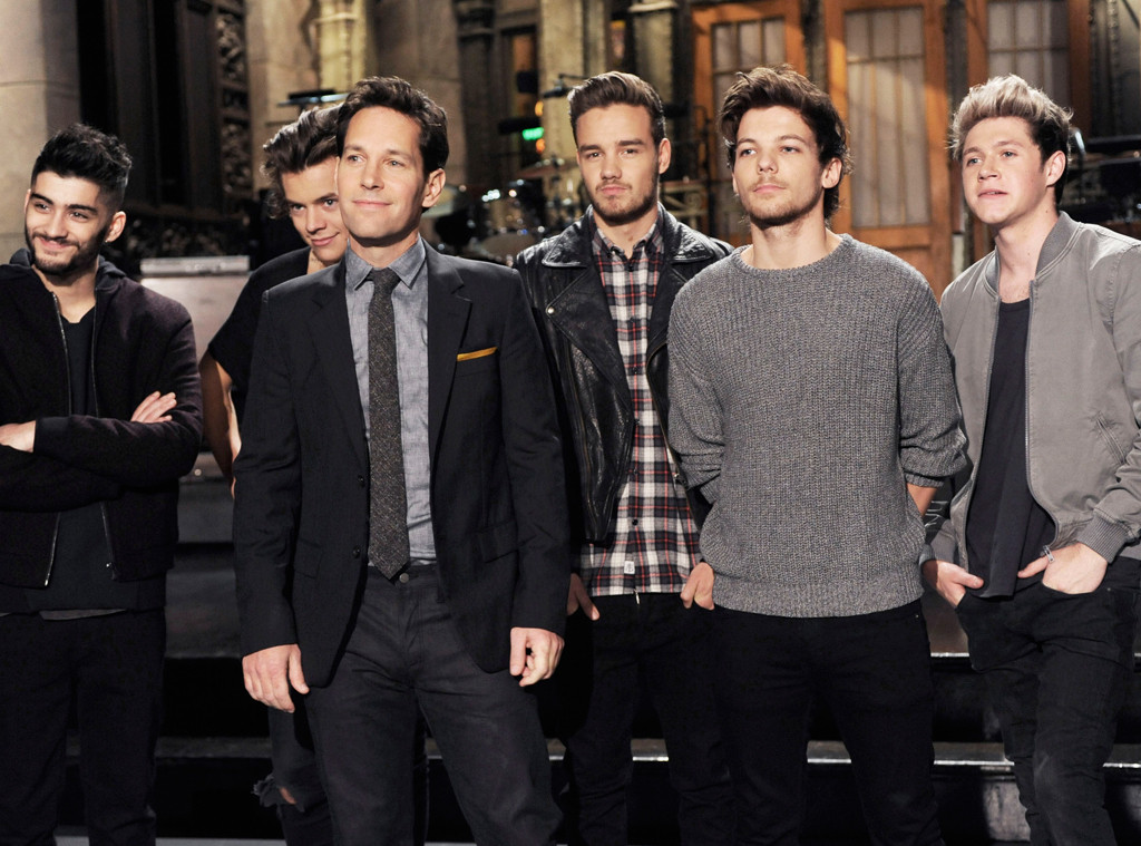 Paul Rudd, One Direction, SNL